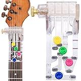 Gitarrenhilfen Ein-Tasten-Akkordunterstützte Lernwerkzeuge Gutes Geschenk für Anfänger von Gitarrenliebhabern