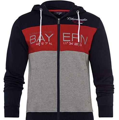 FC Bayern Múnich - Chaqueta con capucha, diseño del FC Bayern Múnich