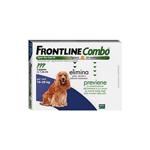 Mérial Frontline 042002 Spot Combo 10-20 kg - 3 pipettes