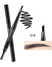 NICEFACE Wenkbrauwverf Wenkbrauwpotlood Lichtbruin Double Ended Precision Brow