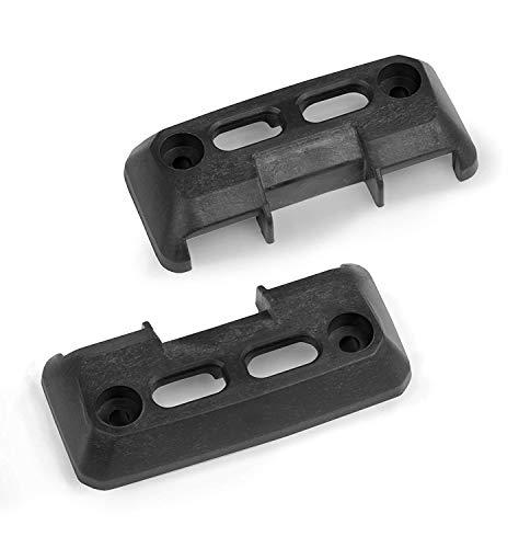 WFix Halter für Bosch Sortimo L-Boxx | L-SAFE PRO BLACK Sicherung Fixierung für LBOXX | 2 Halterungen zum Aufschrauben | Für alle Bosch L BOXX Werkzeugkoffer