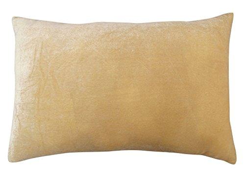 décoratif taie jet décoration intérieure beige cas coussin de velours - Choisir la taille