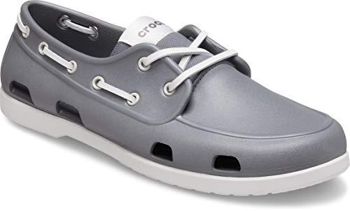Crocs Men's Classic Boat Shoe | Mens Casual Shoes | Slip On Shoes Men