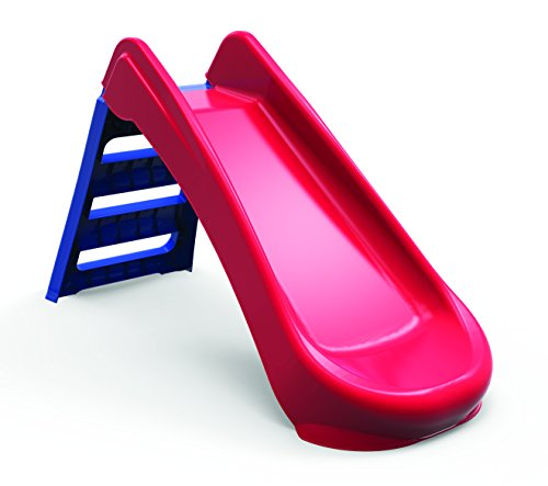 Palplay Red & Blue Kids & Toddlers Folding First Slide - For Indoor & Outdoors / Garden