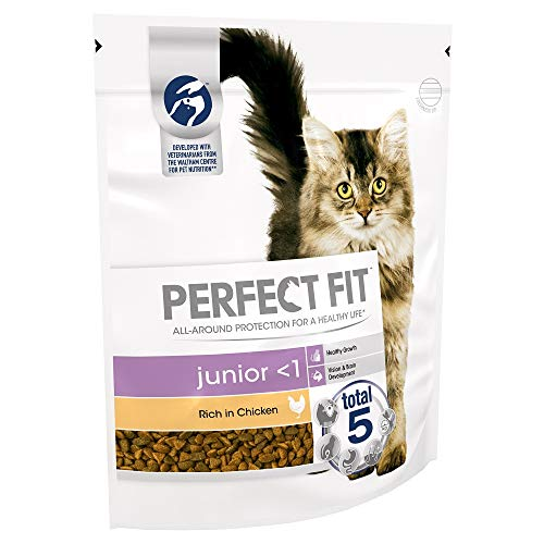 Perfect Fit Katzen-Trockenfutter Truthahn, 3 x 750 g