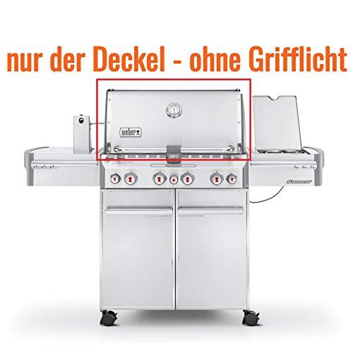 Weber Ersatzteil Deckel LID Summit Edelstahl S 470 Art. Nr. 70106