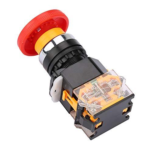 Notruftaste Not-Aus-Gerät Stoppschalter Not-Aus-Schalter Stopptaste mit rotem Pilzkopf