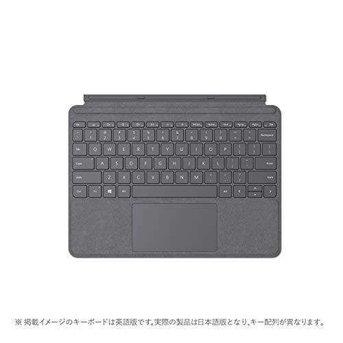 マイクロソフト Surface Go Signature タイプ カバー プラチナ KCS-00144