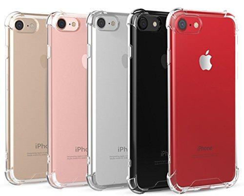 """Capa Celular Apple Iphone 7 Plus iPhone 8 Plus 5.5"""" Bordas Anti impacto Gel TPU Transparente Silicone"""