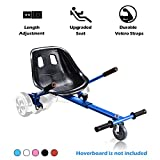 Go Kart Hoverboard Seat Attachment Accessories Hover Board Cart for...
