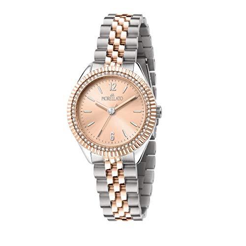Morellato Reloj para Mujer, Colección Magia, Solo Tiempo, Caja 34mm - R0153165502