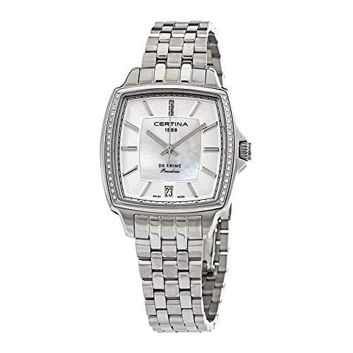 Certina DS Prime C028.310.61.116.00 Reloj de Pulsera para mujeres con diamantes genuinos