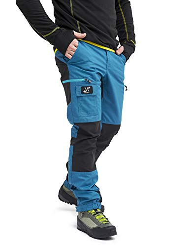 RevolutionRace Herren Nordwand Pants, Hose zum Wandern und für viele Outdoor-Aktivitäten, Petrol, S