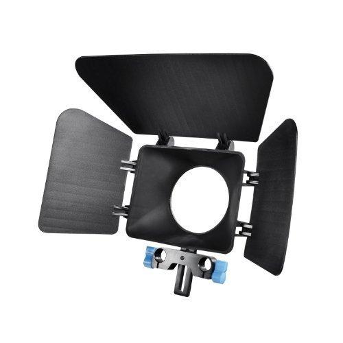 eimo DSLR Matte Box Shading Lens Hood Carta per fotocamere reflex digitali e videocamere