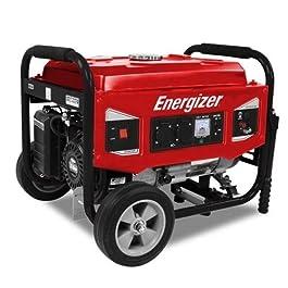 Energizer EZG6000 Groupe Électrogène Essence de Chantier 5500 W – Système AVR – Générateur de Secours – Alimentation 230…
