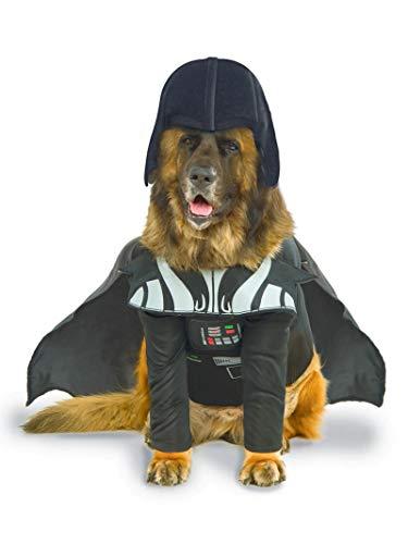 Offizielles Rubie 's Star Wars Darth Vader Pet Dog Kostüm, Big Dog
