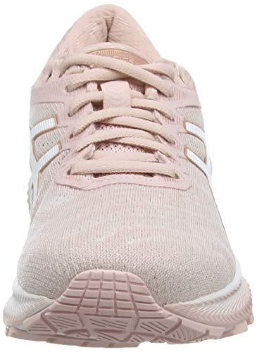 ASICS Gel-Nimbus 22, Zapatillas para Correr Mujer, Rosa Ginger Peach White, 39.5 EU