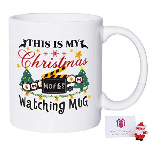 Christmas Gifts Coffee Mug   This Is My Christmas Movies Watching Mug,...