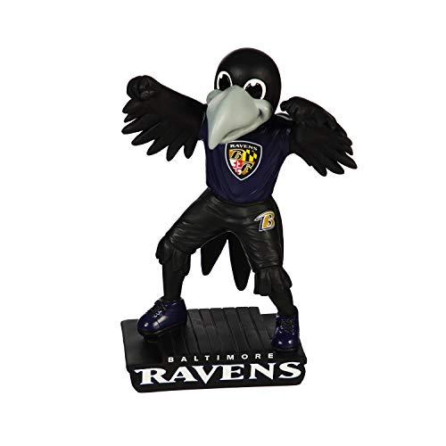 Team Sports America NFL Baltimore Ravens Fun Colorful Mascot Statue 12 Inches Tall