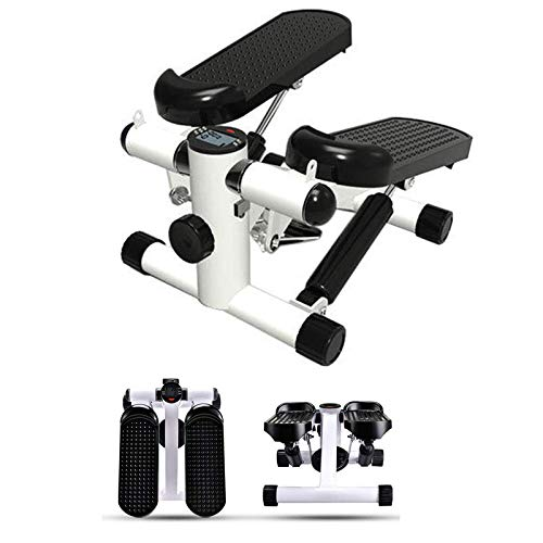 FFitness Mini Stepper Ffitnes, Strumento Professionale per l'home Fitness Unisex Adulto, Bianco