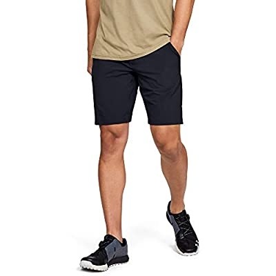 Under Armour Men's Mantra Shorts, Black (001)/Pitch Gray, 36