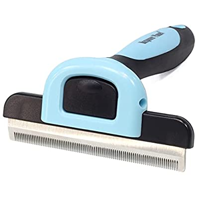 Maxpower Planet Pet Deshedding Brush for Dogs and Cats,Effectively Reduces Shedding by Up to 95% by Maxpower Planet