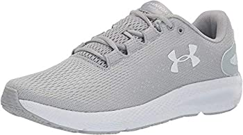 Under Armour Men s Charged Pursuit 2 Running Shoe Mod Gray  102 /White 12 M US