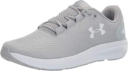 Under Armour Men's Charged Pursuit 2 Running Shoe, Mod Gray (102)/White, 13 M US