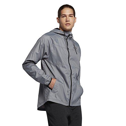 Hurley Veste Solide pour Homme, Large, Cool Grey