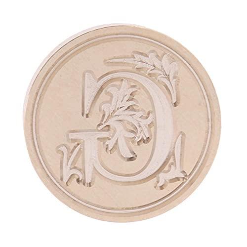 Sello de cera retro de 26 letras A-Z sello cabeza alfabeto letra madera sello reemplazar cabeza cobre Hobby herramientas sello artesanía regalo-G cabeza,Australia