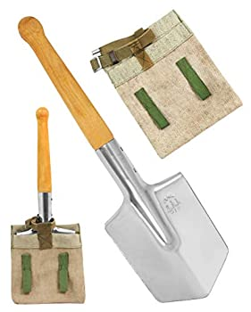 PetriStor Shovel 1984 Special Forces Shovel Includes Sheath Shovel Stainless Steel with Pouch