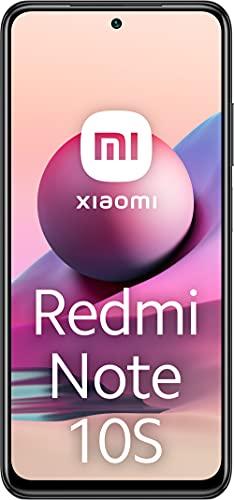 Redmi Note 10S Smartphone RAM 6GB ROM 64GB 6.43    AMOLED DotDisplay Fotocamera 64MP 33W Ricarica rapida MediaTek Helio G95 Jack per cuffie da 3,5 mm 5000mAh (typ) Batteria Grigio [Versione globale]
