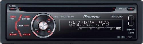 Pioneer DEH 4000 UB MP3-CD-Tuner (Front-USB-Eingang, AUX-In, Vorverstärkerausgang)