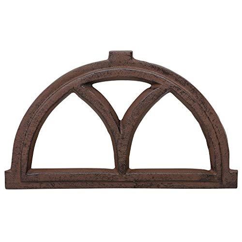 Fenster Eisenfenster Stallfenster Scheunenfenster Eisen Antik-Stil 41cm braun