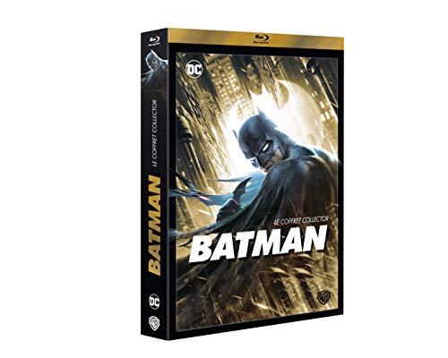 Coffret Collector : Un deuil dans la Famille + Batman Ninja + Year One + Gotham by Gaslight + The Dark Knight Parties 1 & 2 [Blu-Ray]