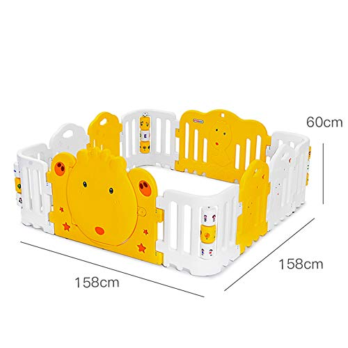 Sale!! Foldable Baby Playpen, Activity Center Safety Playard, Kid's Fence Ideal for Indoor Outdoor U...