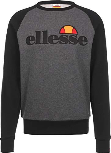 ellesse Sweater Herren TRIVIAMO Sweatshirt Dunkelgrau Dark Grey Marl, Größe:S