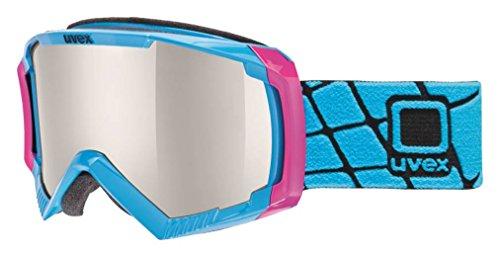 Uvex Skibrille Apache II, Pink/Cobalt, One Size