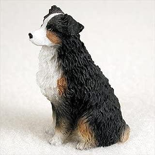 Australian Shepherd Tricolor Docked Tiny Ones Dog Figurine