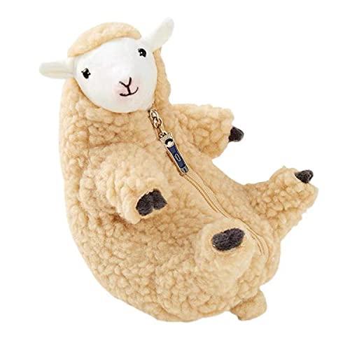 HNZNCY Peluche colgante almohada juguetes de felpa extraíble ovejas peluche suave lindo cordero juguetes para niños exclusivo ovejas peluche peluche animales muñecas
