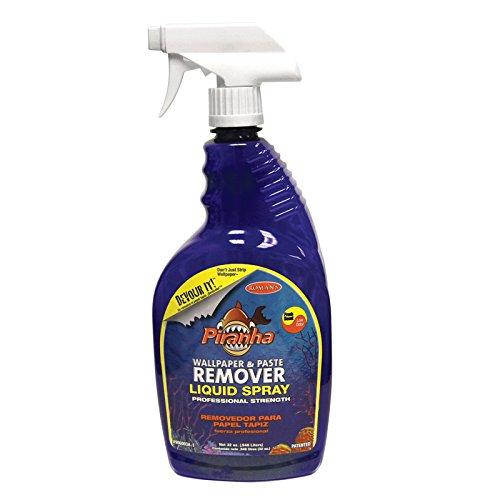 Piranha 206003 32-Ounce Liquid Spray Wallpaper Remover
