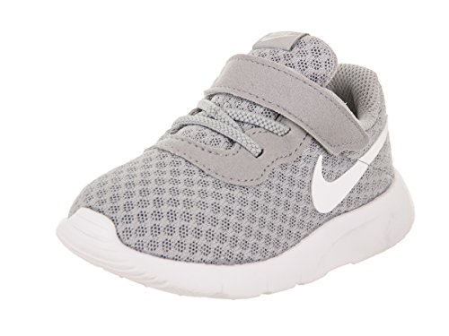 Nike Unisex Baby Tanjun (TD) Sneaker, Grau (Wolf Grey/White/White 012), 22 EU
