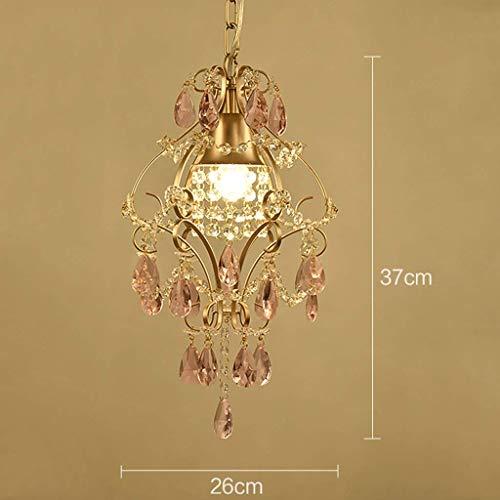 Plafondlamp kroonluchter ijzeren kristal huiskamer slaapkamer decoratie verlichting voor slaapkamer, eetkamer, woonkamer, bar, restaurant, huisdecoratie