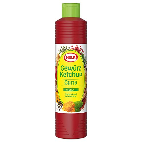Hela Curry Gewürz Ketchup Delikat, 800ml