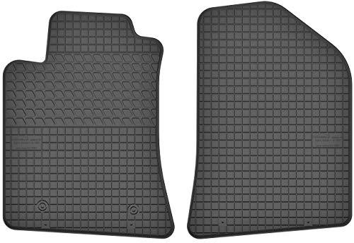 Motohobby Gummimatten Vorne Gummi Fußmatten Satz für Toyota Avensis II (2003-2009) - 2-teilig - Passgenau