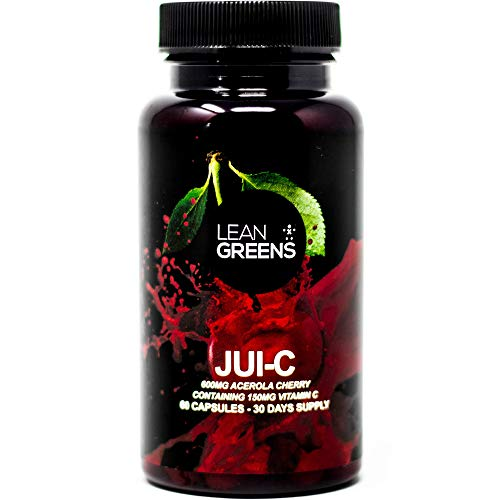 Acerola Cherry Vitamin C - Jui-C by Lean Greens, Naturally Support Your Immune Function