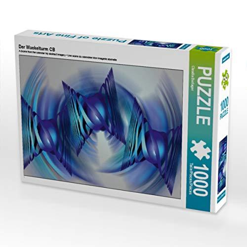 CALVENDO Puzzle Der Wackelturm CB 1000 Teile Lege-Größe 48 x 64 cm Foto-Puzzle Bild von Digital-Art