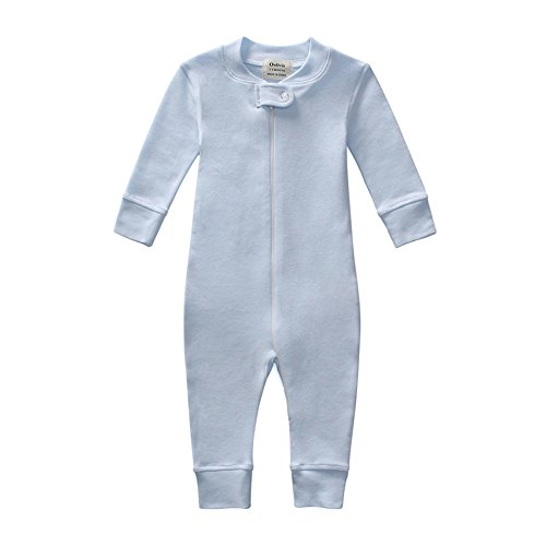 Owlivia Organic Cotton Baby Boy Girl Zip Front Sleep N Play...