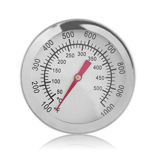 Horno de Calibre de Barbacoa de Lectura instantánea para cocinar Alimentos Termómetro de Carne de Acero Inoxidable Plata