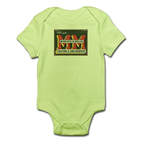 CafePress 34 1505_Minneapolis_Moline_Tractors_Logo_Tin_Sign Cute Infant Bodysuit Baby Romper